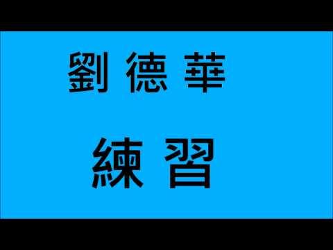 劉德華-練習 (HD)