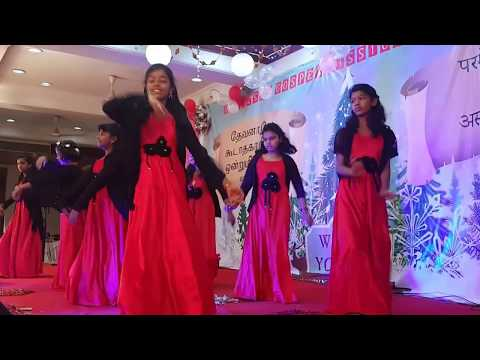 Rasa Rasa Pitha - Tamil Christian Song │ with Lyric's │BGM girl's│ Christmas Dance 2017