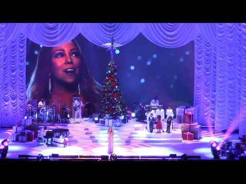 MARIAH CAREY - O2 London, 11/12/2017 - ALL I WANT  FOR CHRISTMAS IS YOU / FULL CONCERT