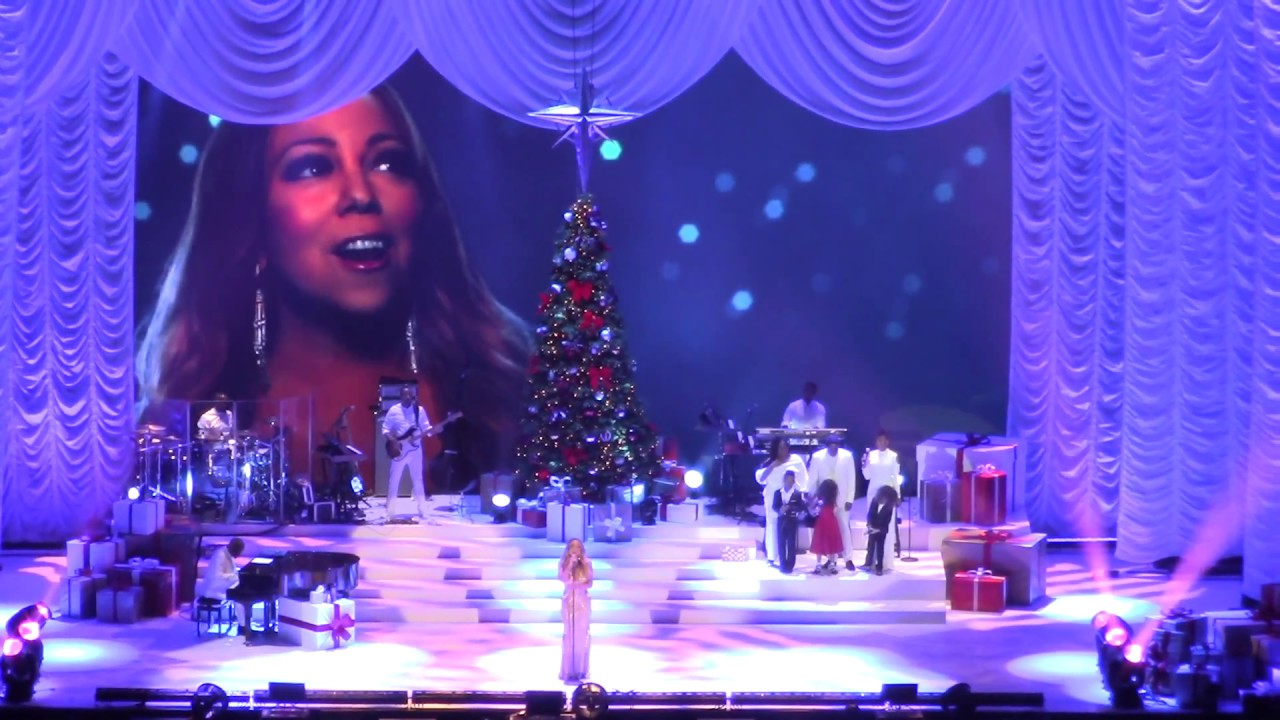 mariah carey o2 london 11122017 all i want for christmas is you full concert