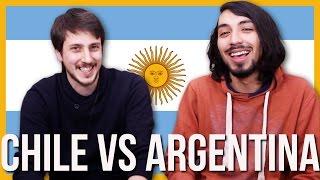 Argentina vs Chile ¿Quién gana? | Reto de los idiomas