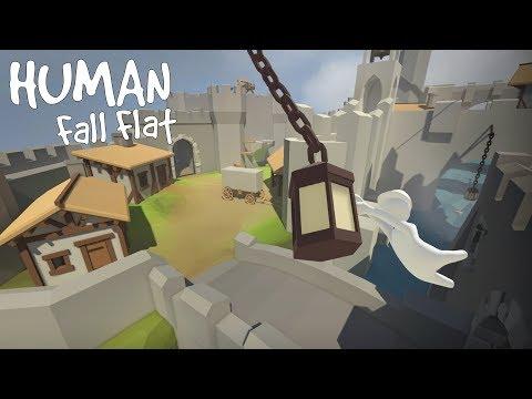 Human: Fall Flat Coop Multiplayer #001 [1440p] [60 FPS] [Facecam]