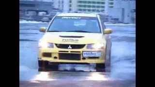 Тест-драйв автомобиля Mitsubishi Lancer Evolution 9