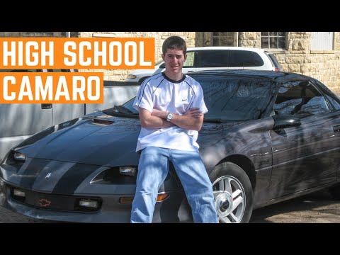 I BOUGHT My High School Z28 Chevy Camaro BACK And It's TRASHED