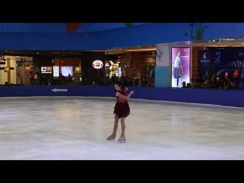 Mayuko Nakamura Basic Novice A- Free Skating Vietnam Cup 2015
