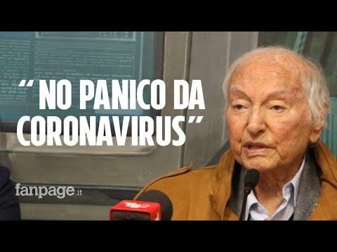 Coronavirus, Piero Angela: 'Mai visto niente del genere a 91 anni, ma niente panico'