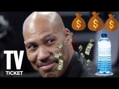 BREAKING NEWS! LAVAR BALL SIGNS A MAJOR WATER COMPANY CO-BRANDING DEAL IN LITHUANIA!