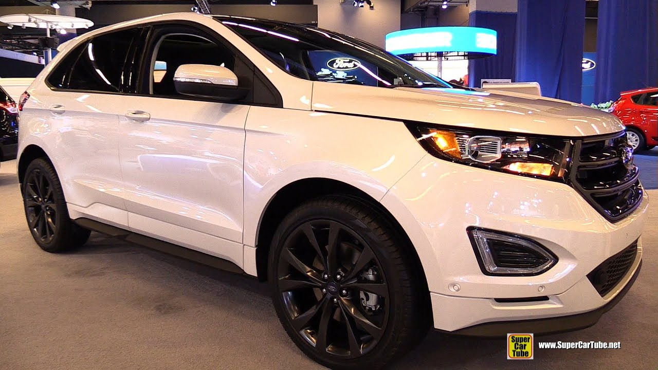 2015 ford edge sport ecoboost awd exterior and interior walkaround 2015 montreal auto show. Black Bedroom Furniture Sets. Home Design Ideas