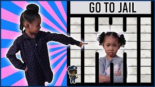 Don't Touch My Stuff | Sekora JAILS Her Little Sister Sefari | Pretend Play