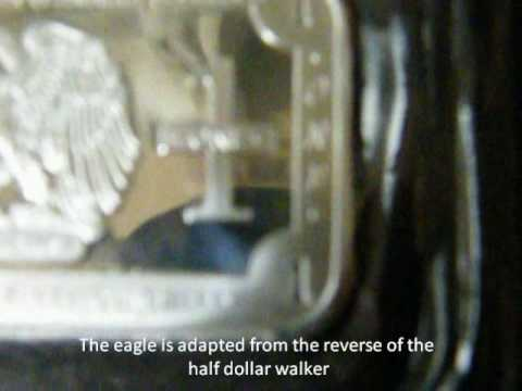 Buffalo and Eagle .999 Silver bars