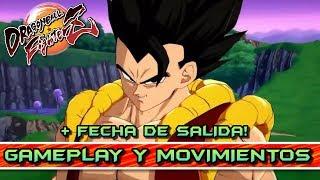 GOGETA BLUE - TODOS SUS MOVIMIENTOS y ESPECIALES + FECHA DE SALIDA!! DRAGON BALL FIGHTERZ