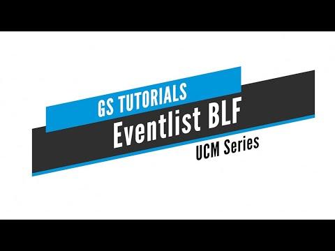 Download GS Tutorials - UCM: Eventlist BLF