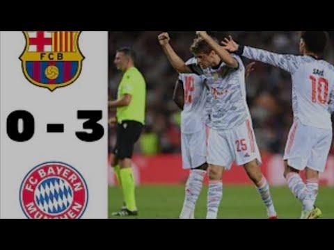 Download Highlights Barcelona vs Bayern Munich   UEFA Champions League UCL 2021 2022
