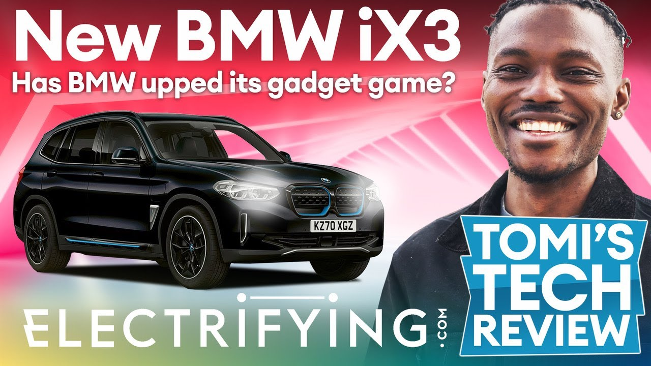 BMW iX3 SUV 2021 technology review - Tomi's Tech Download / Electrifying