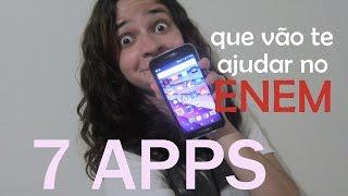 7 apps que vão te ajudar no ENEM