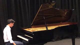 "Victor Huang Piano 13yo 12 Etudes, Op. 25: No 11 "" Winter Wind"" by F. Chopin"