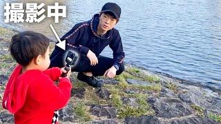チビキン(2歳)がカメラ持って撮影するとどんな動画になるの?