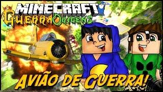 Minecraft Guerra: Origens - AVIÃO DE GUERRA! - DROPS #3