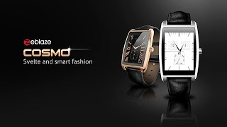 zeblaze cosmo smart watch call reminder sedentary reminder heart rate sleep monitor camera remote