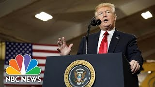 President Donald Trump Suggests U.S. Border Security Be Like North, South Korea's | NBC News
