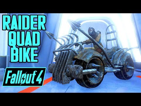 Fallout 4 - RAIDER QUAD BIKE! - New Driveable Vehicle Mod by M
