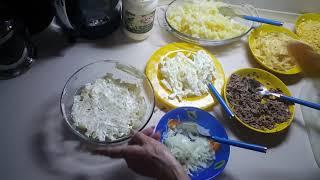 """Готовим оригинальный салат """"Ева"""""""