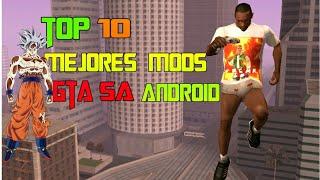 "Top 10 Mejores Mods Para [Gta Sa Android] ""parte 5"" 2018"