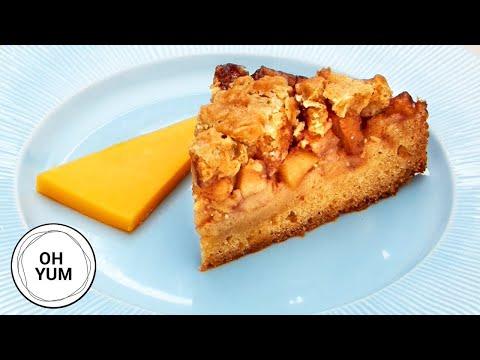 Professional Baker's Best Apple Pie Blondies Recipe!