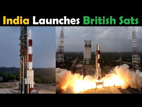 India's PSLV Rocket Launches SSTL S1-4 and NovaSAR-1 Satellites (C42)