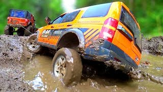 RC Cars MUD Adventure Vol 2– Land Rover Discovery, Defender and Jeep Wrangler | Wilimovich