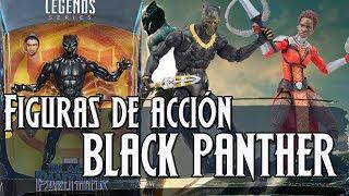 Las figuras de acción de BLACK PANTHER que se estrena en febrero de 2018