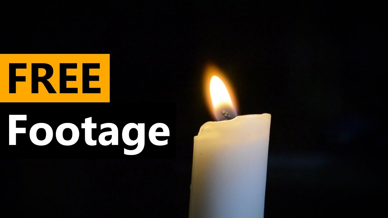 Candle - FREE Stock Video Footage [Download Full HD]