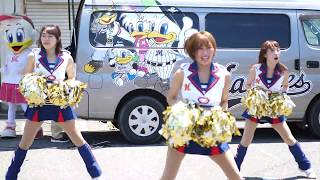 20170617 M☆Splash!!『Take Me Out to the Ball Game』Japanese baseball cheer squad