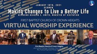 January 10, 2021: Virtual Worship Service