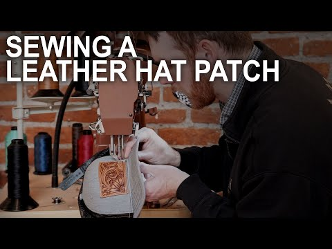 Sewing a Leather