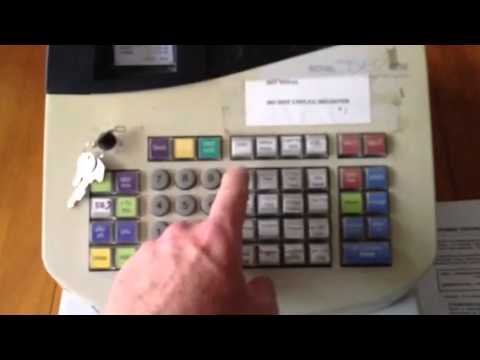 Basic Cash Register Operation Youtube