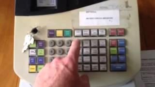 basic cash register operation