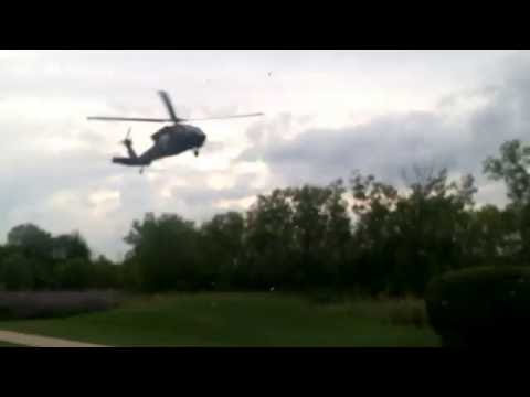 8-27-16    Schaumburg Heli-Port  Blackhawk Air National Guard