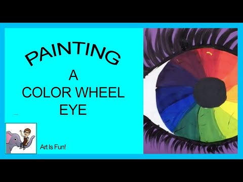 Creating A Color Wheel Eye Youtube