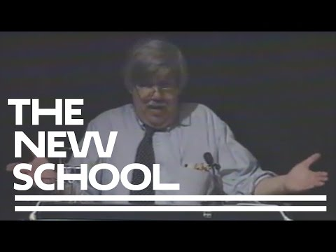 1995 | In The Company Of Animals Conference, Keynote Address By Stephen Jay Gould | The New School