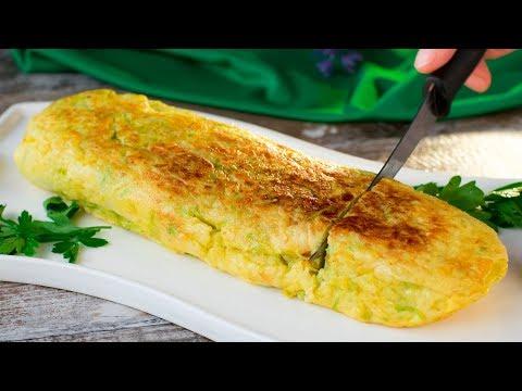 omelette-aux-courgettes---parfaite-pour-un-petit-déjeuner-savoureux-et-rassasiant-!-|-savoureux.tv