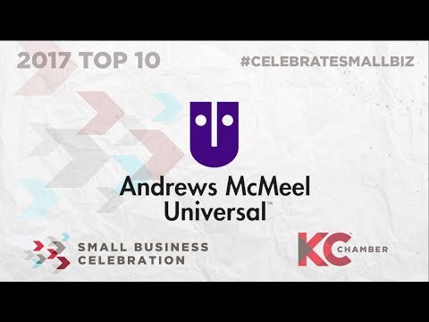KC Chamber 2017 Top 10 Small Business: Andrews McMeel Universal