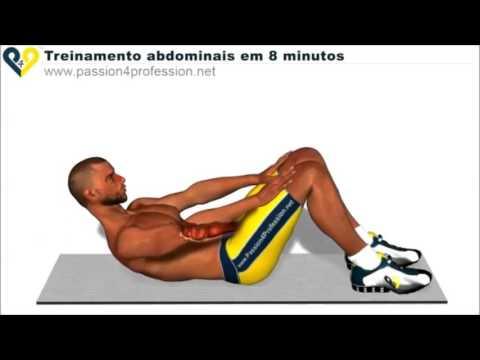 Exercício para perder a barriga / Fortalecer o abdômen - Parte 2 completo