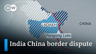 India and China beġin troop pull back from disputed border area | DW News