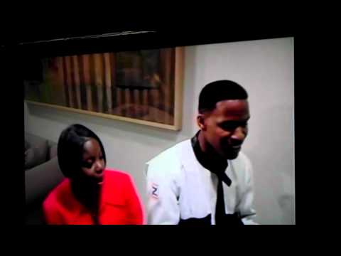 Jamie Foxx Singing with his Sister Live on Piano