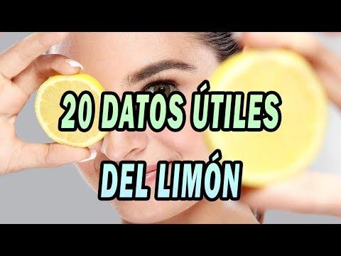 20 Datos útiles del limón
