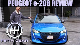 AD - Peugeot e-208 Review | Fifth Gear