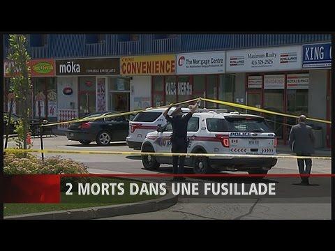 2 fusillades au nord de Toronto