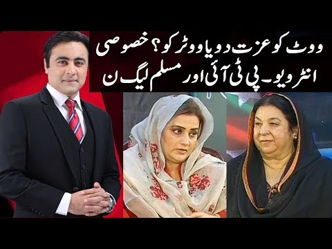To The Point With Mansoor Ali Khan - 22 April 2018 | Express News