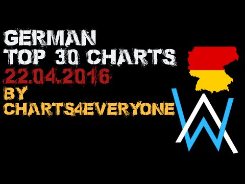 DEUTSCHE/GERMAN SINGLE CHARTS  (22. April 2016)
